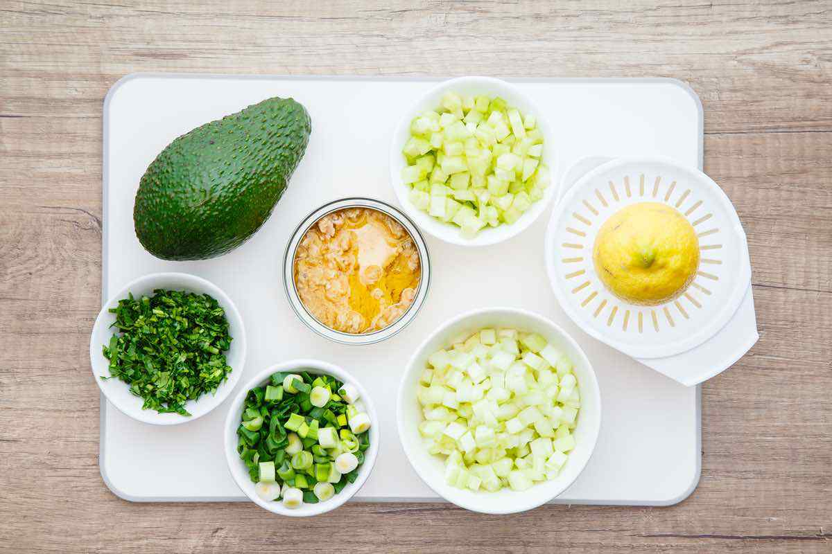 Keto Avocado Tuna Salad