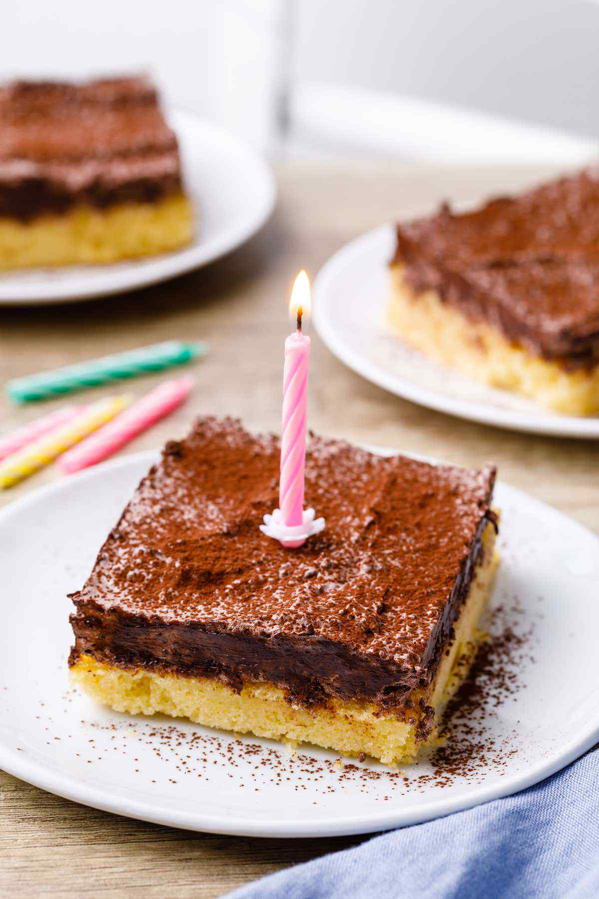 Keto Sheet Birthday Cake