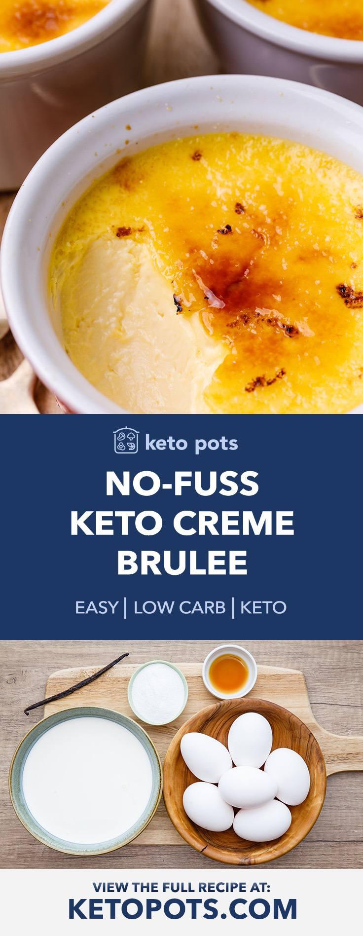 No-Fuss Keto Creme Brulee