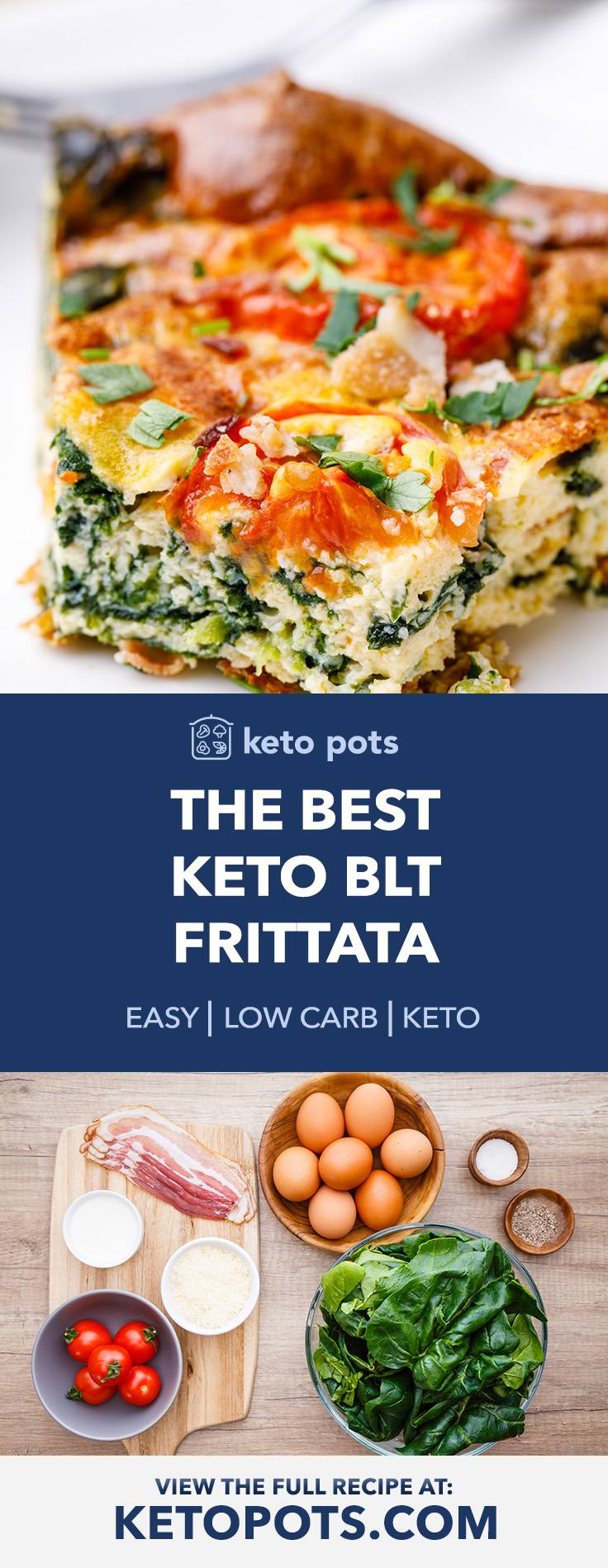 The Best Keto BLT Frittata for a Wholesome Breakfast