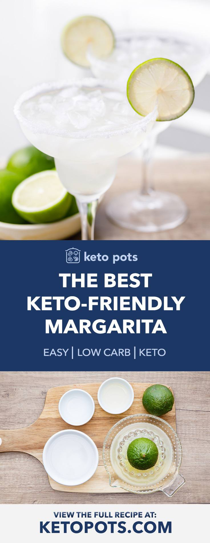 How to Make the Best Keto-friendly Margarita