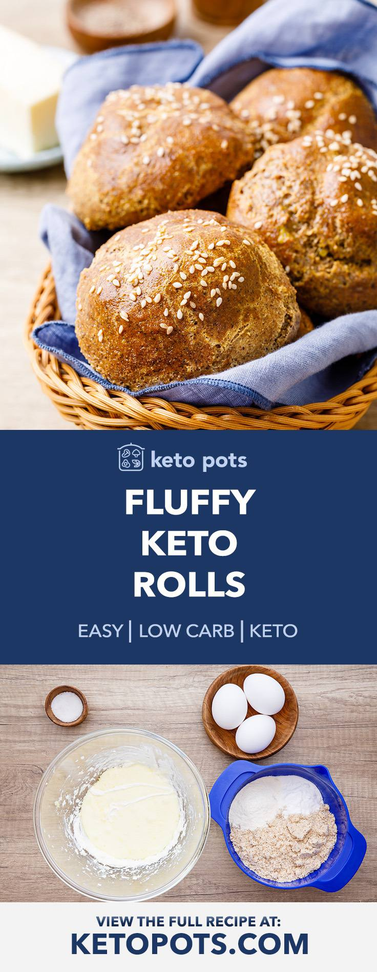 How To Make The Best Fluffy Keto Rolls Try These Keto Pots