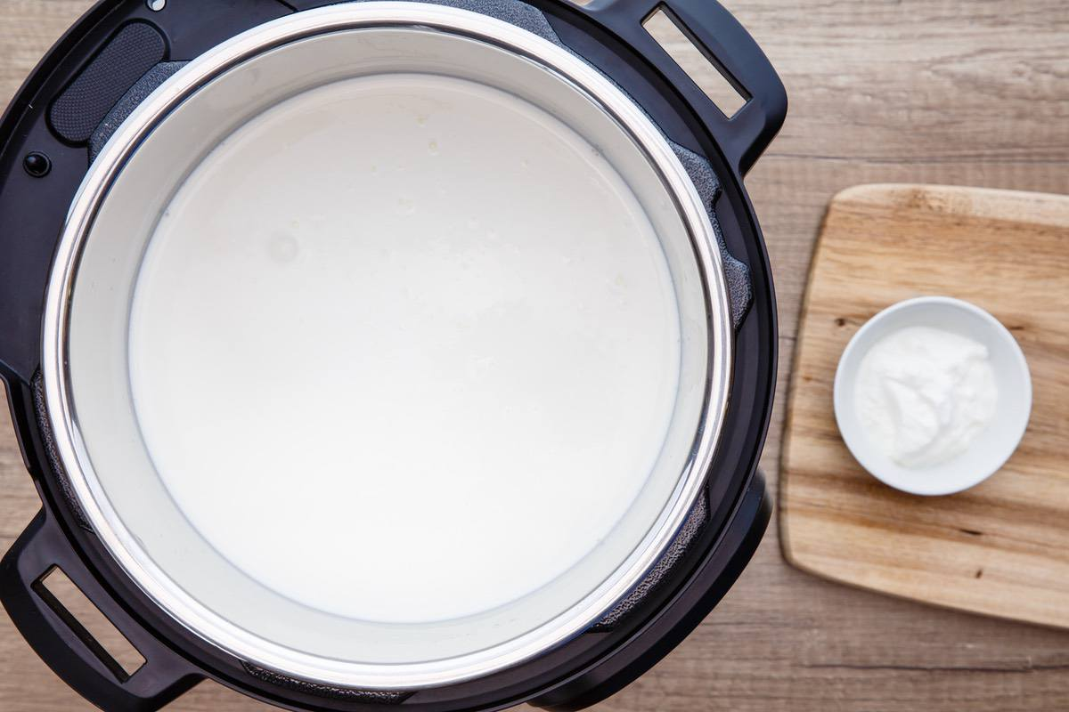 Instant Pot Keto Greek Yogurt
