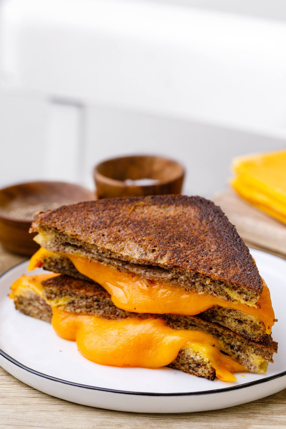 Keto Grilled Cheese