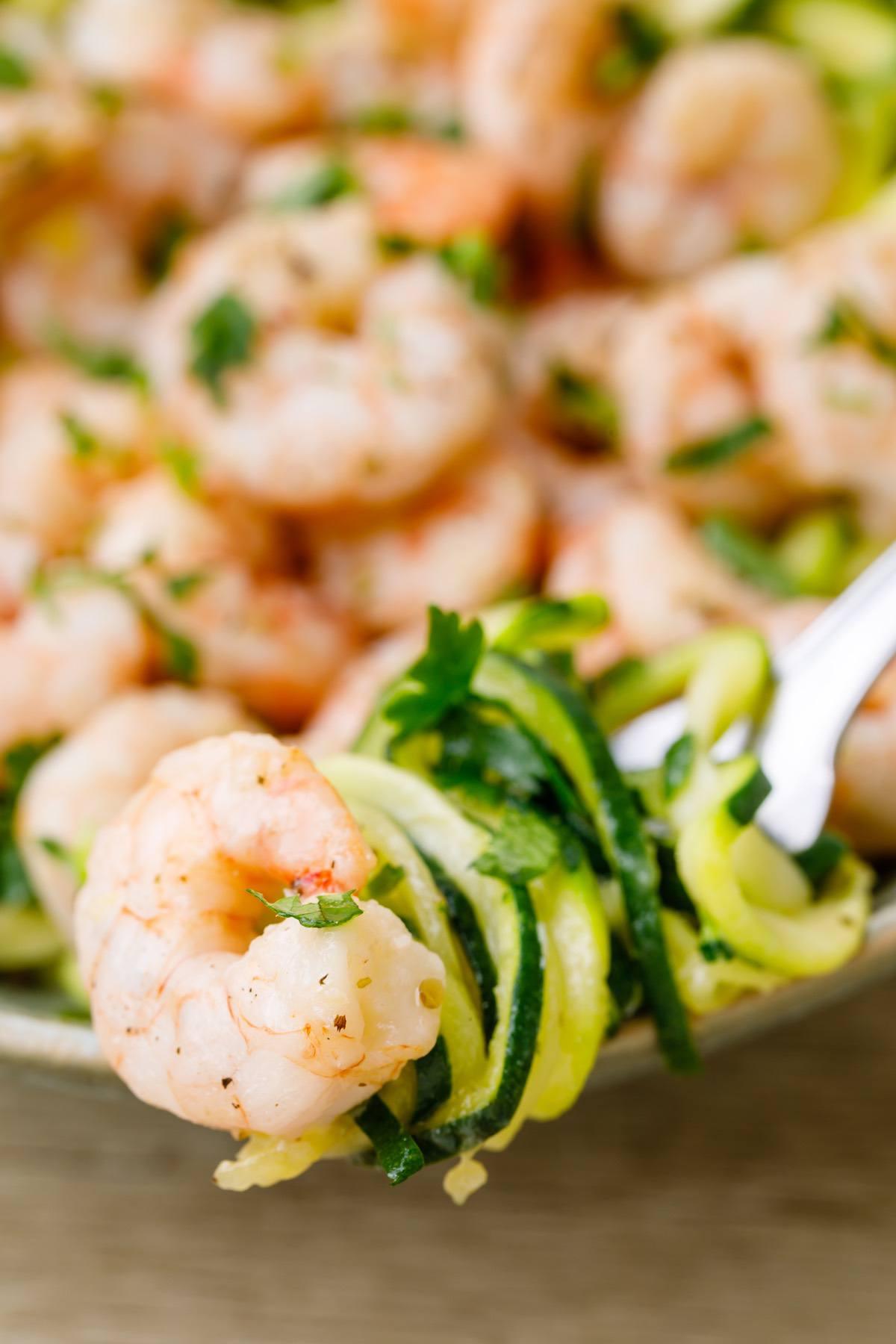 Sheet Pan Keto Shrimp Scampi