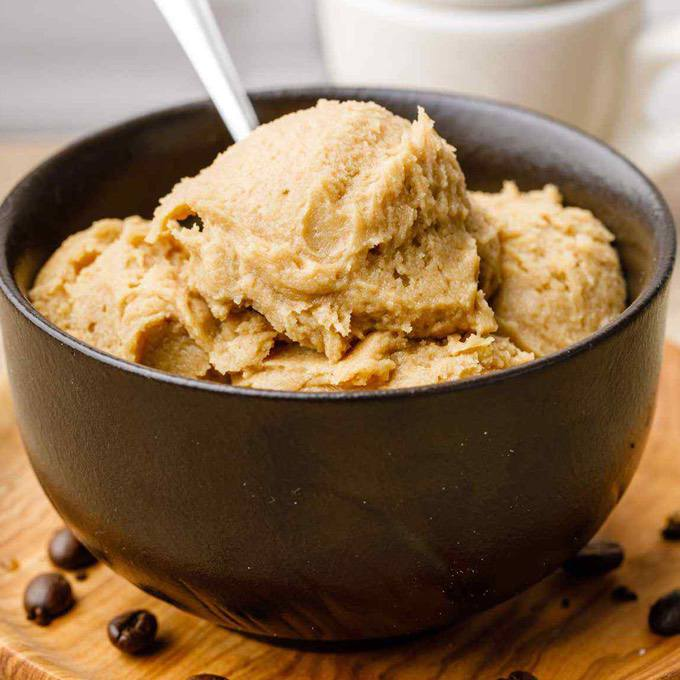 Keto Bulletproof Coffee Ice Cream