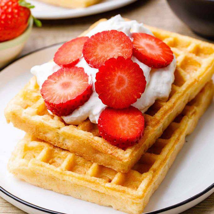 OMG-Delicious Keto Waffles (Light and Fluffy)