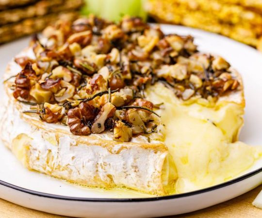 Keto Baked Brie