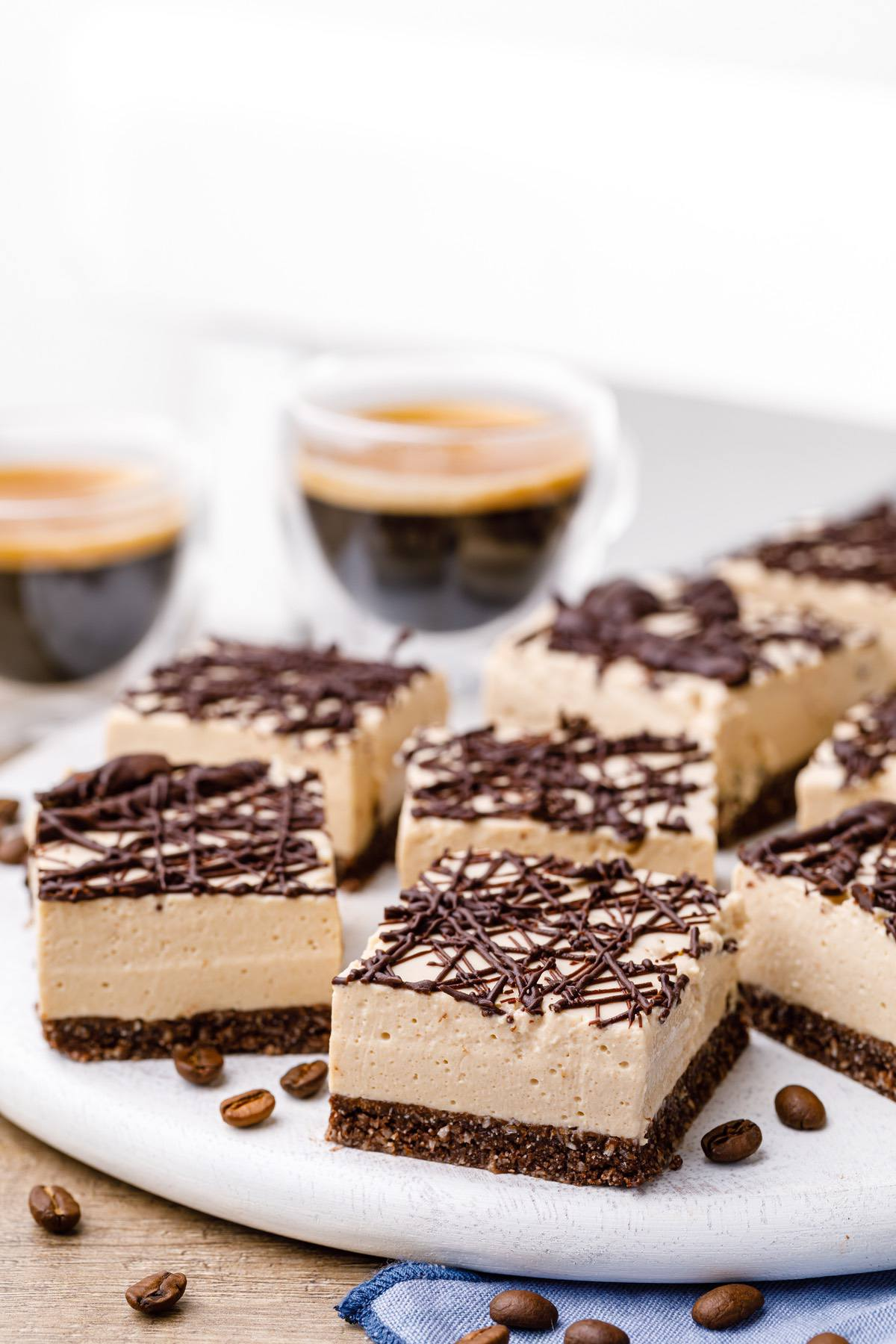 Keto Coffee Cheesecake Bites