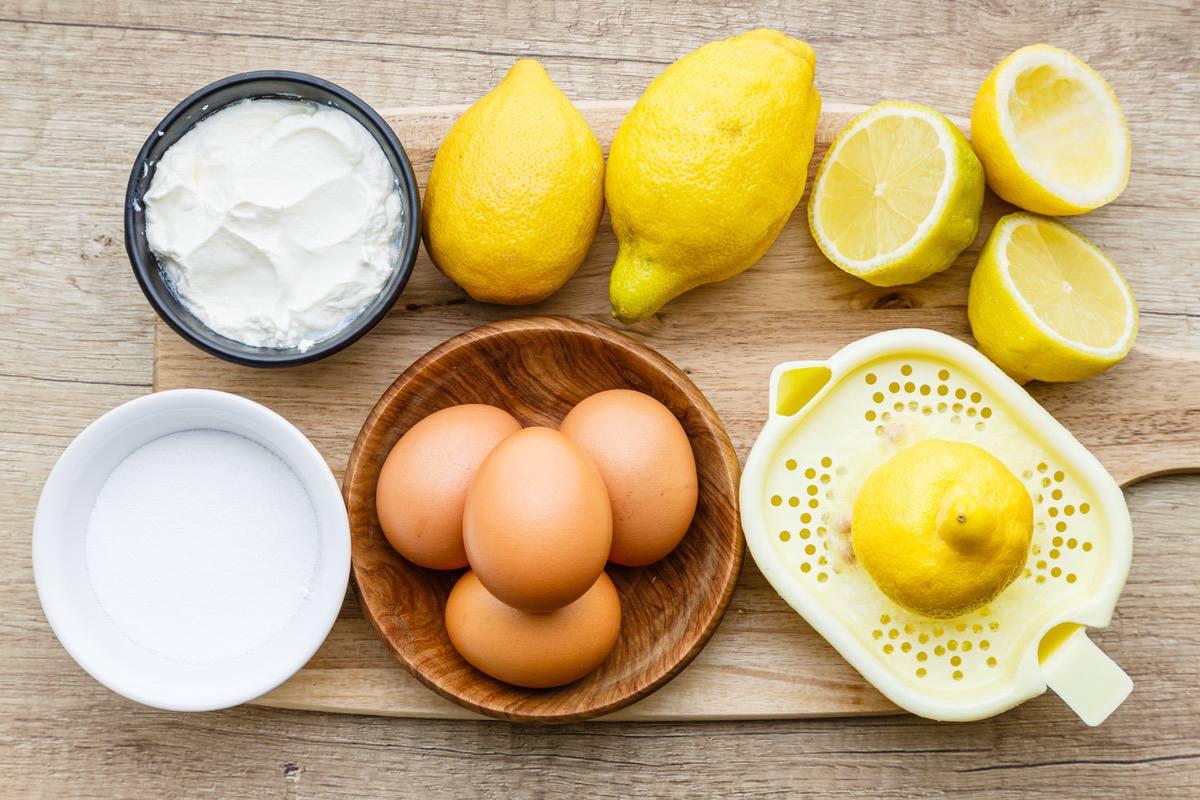 Keto Lemon Cream Pie