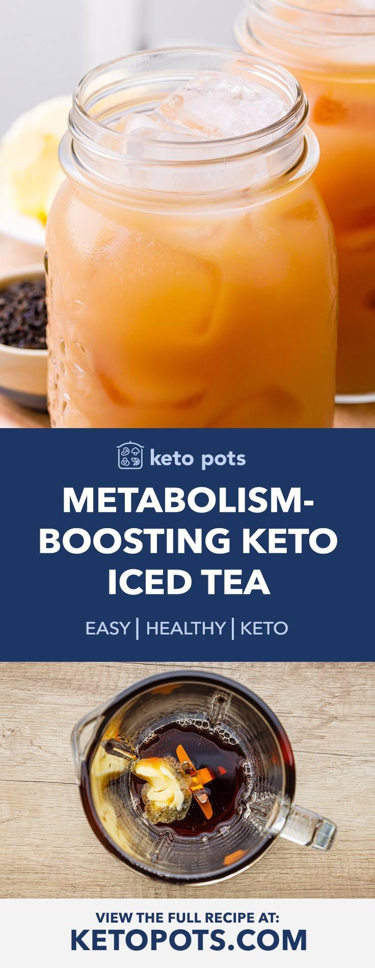Metabolism-Boosting Iced Keto Bulletproof Tea