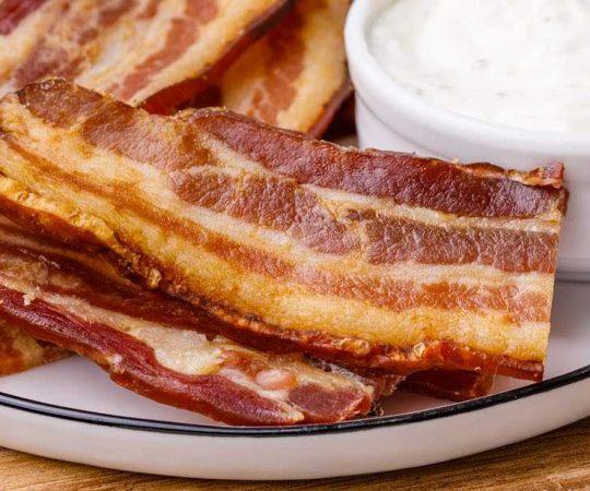 Oven Baked Keto Bacon
