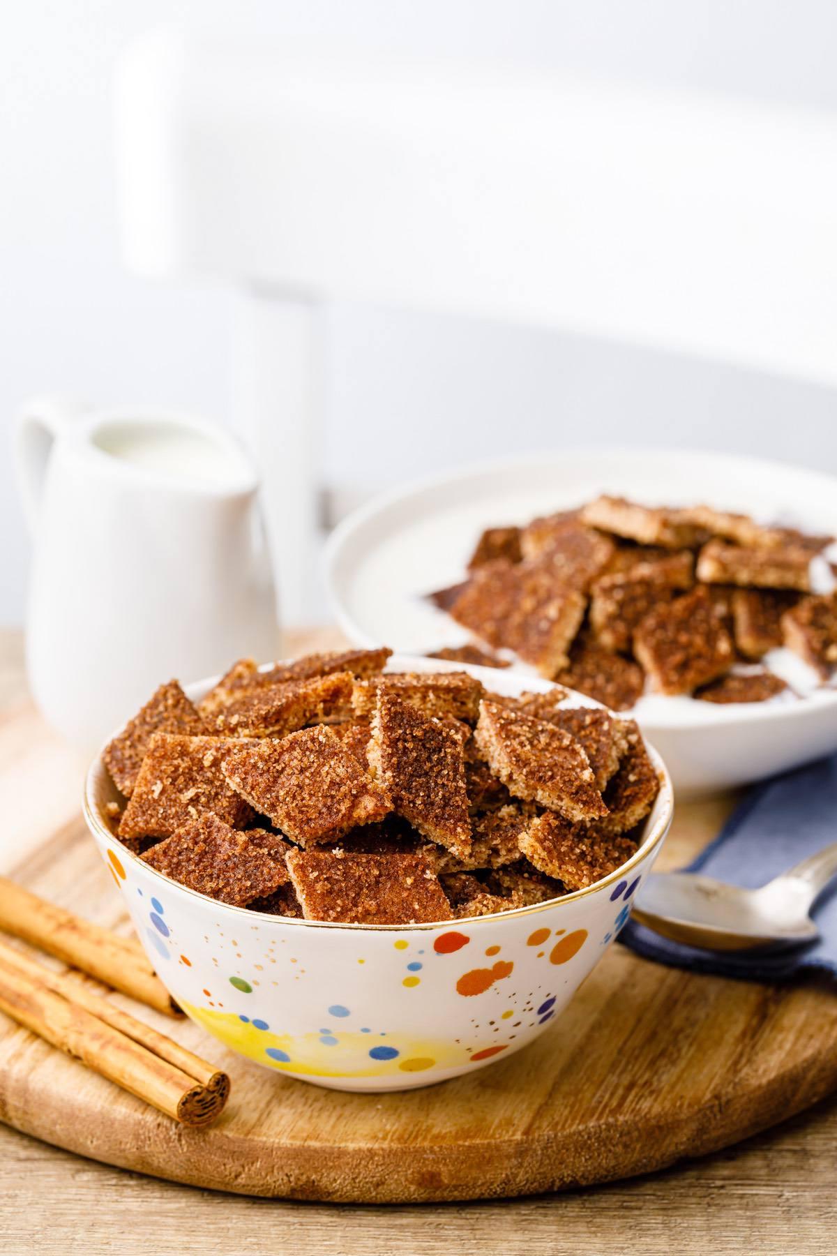 Keto Cinnamon Cereal