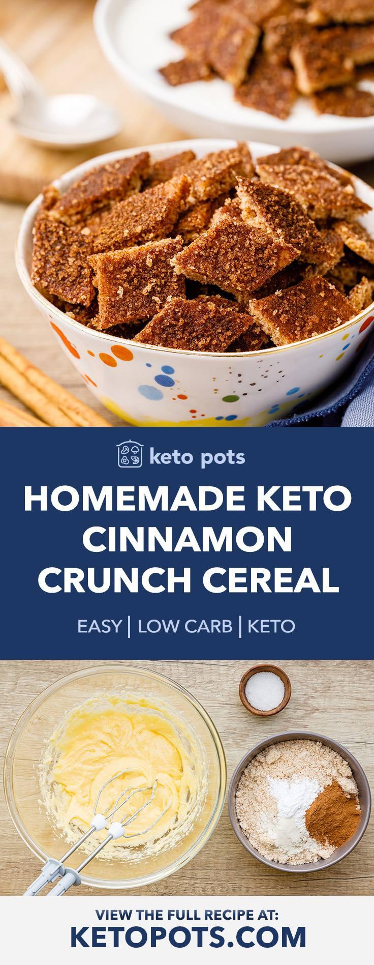 Crave-worthy Keto Cinnamon Toast Crunch Cereal Recipe