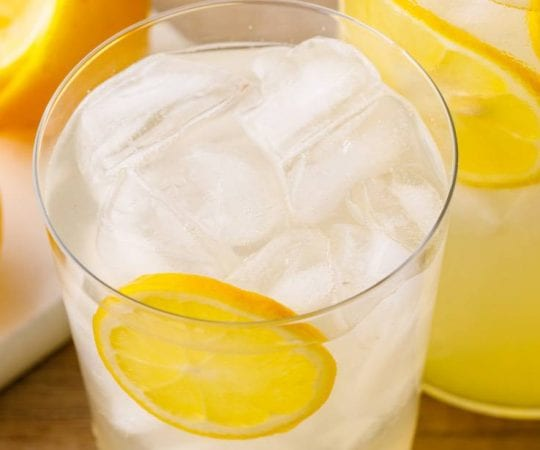 Homemade Keto Lemonade