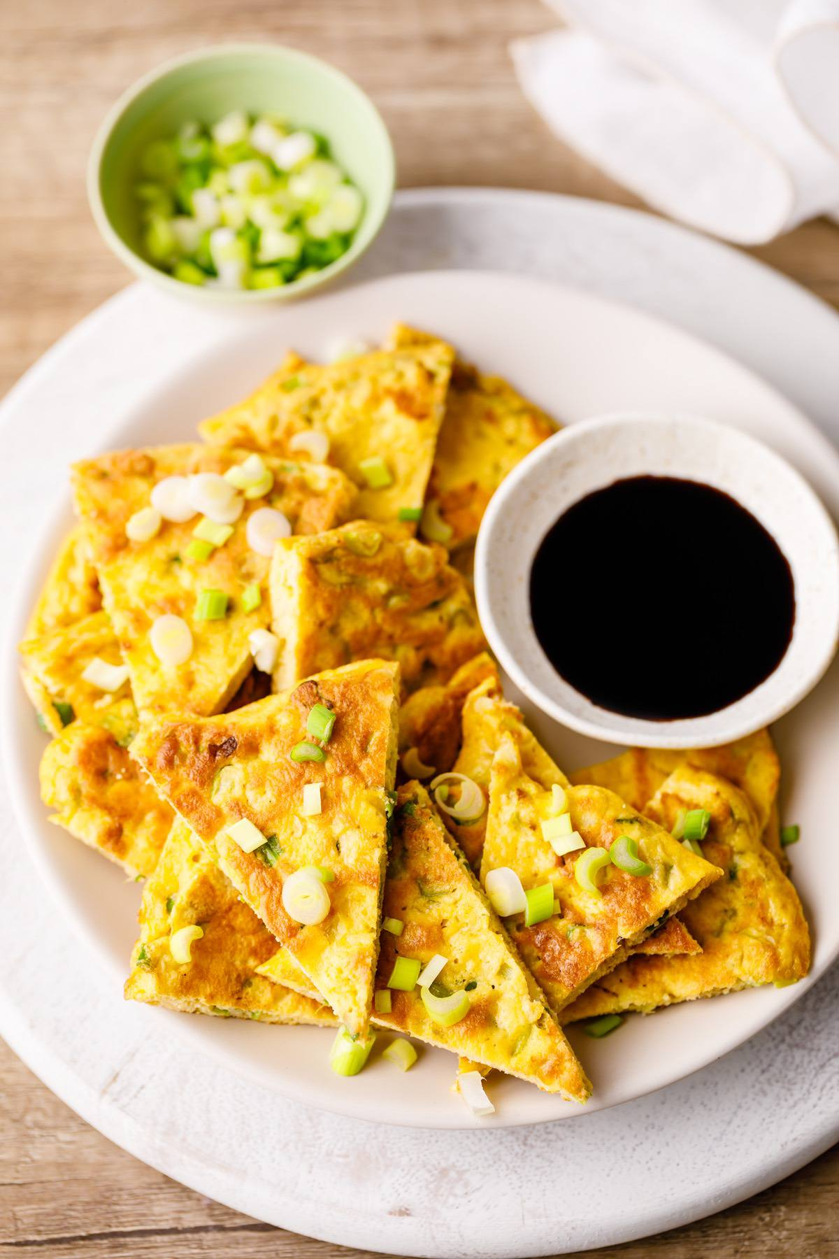 Keto Scallion Pancake Recipe