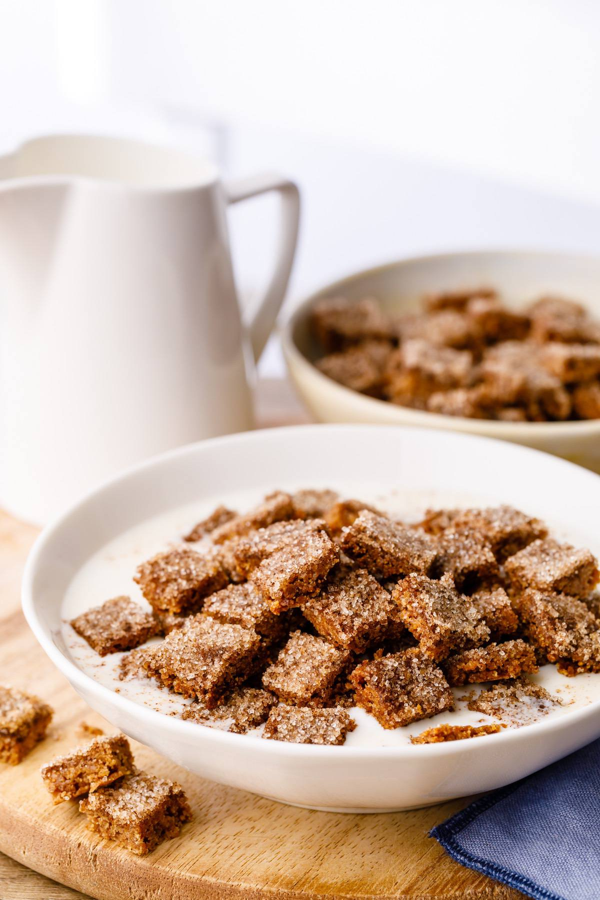 Snickerdoodle Keto Cereal