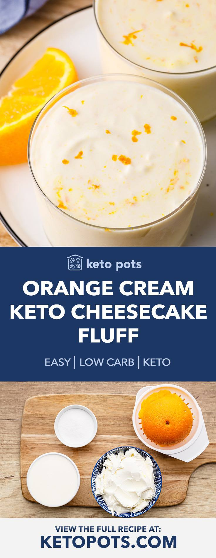 Oh So Good Orange Creamsicle Cheesecake Fluff