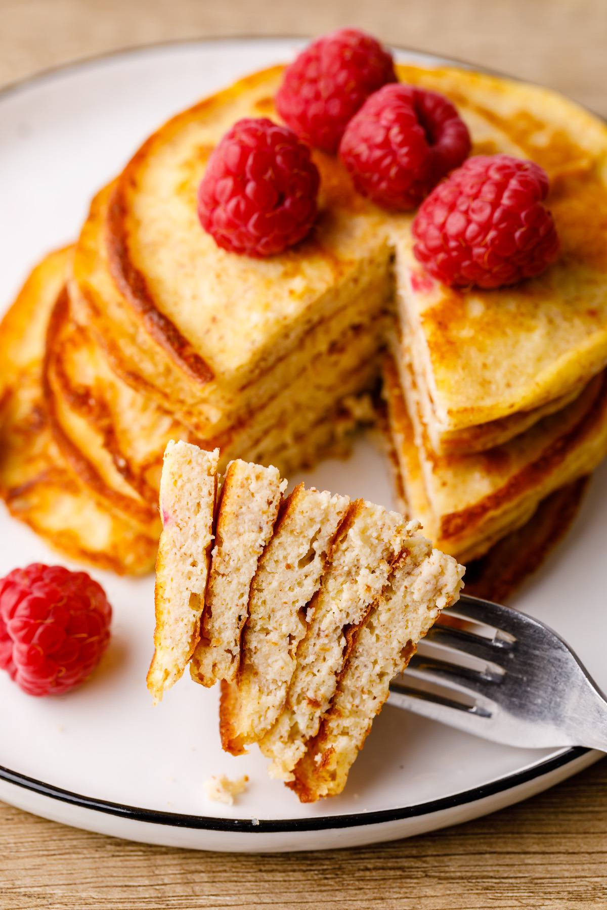 Keto Cottage Cheese Pancakes