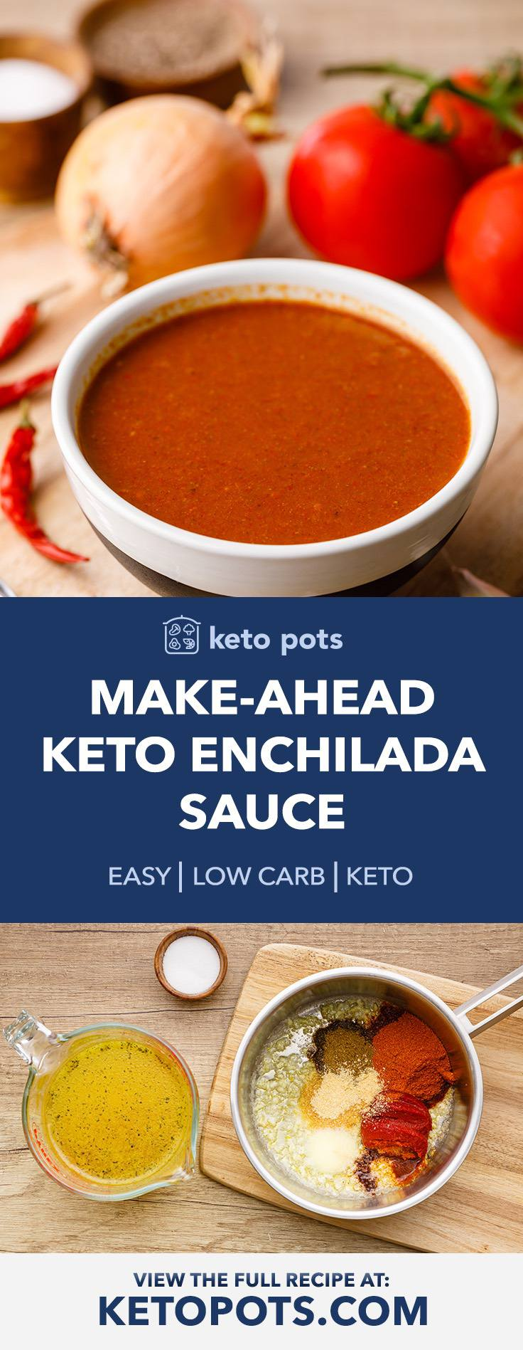 Make-Ahead Keto Enchilada Sauce for Easy Mexican Meals