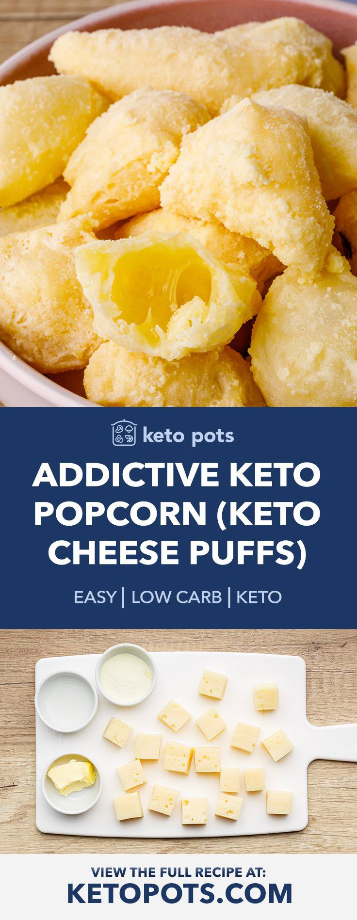 How to Make Low Carb Keto Popcorn
