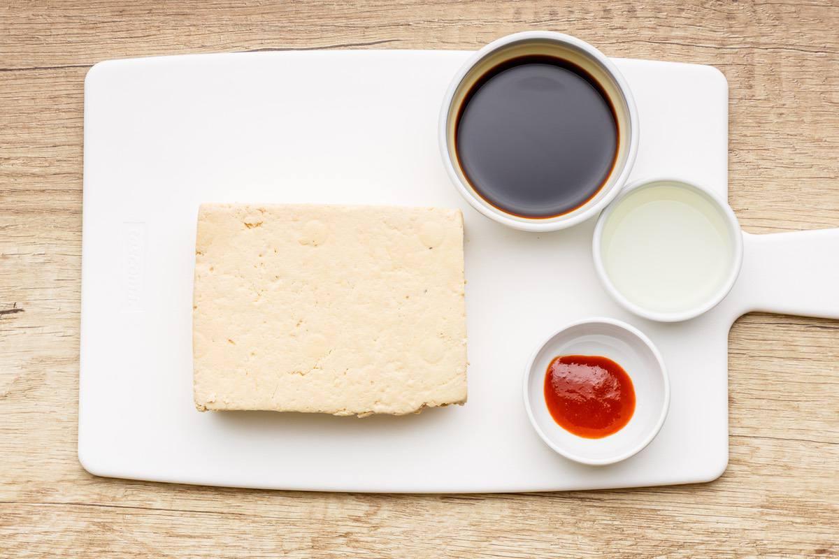 Keto Baked Tofu